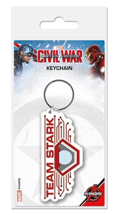 Klíčenka  Captain America: Občanská válka - Team Stark