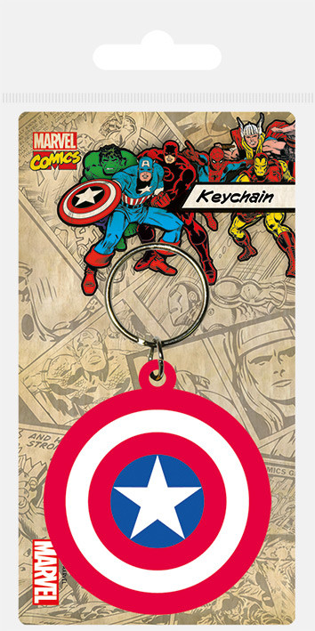 Klíčenka  Captain America - Shield