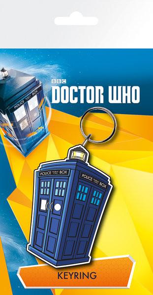 Klíčenka Doctor Who - Tardis Illustration