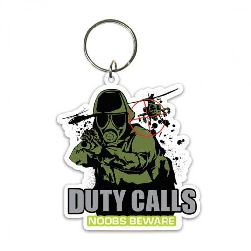 Klíčenka Duty Calls