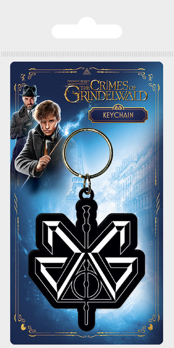 Klíčenka Fantastická zvířata: Grindelwaldovy zločiny - Grindelwald Logo