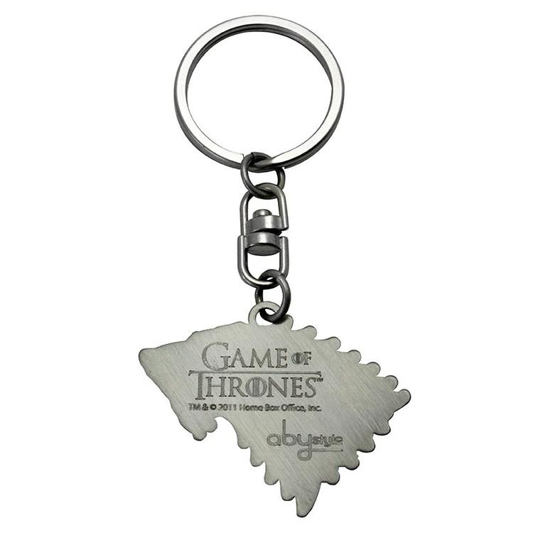 Klíčenka Hra o Trůny (Game of Thrones) - Stark