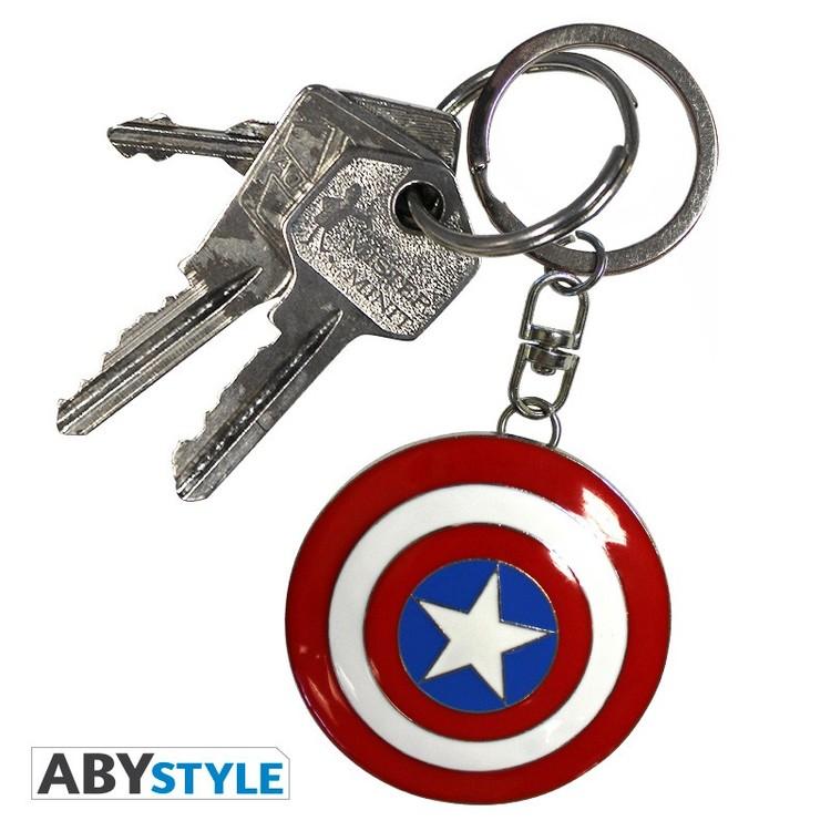 Klíčenka Marvel - Shield Captain America