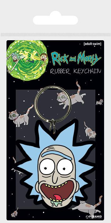 Klíčenka  Rick and Morty - Rick Crazy Smile