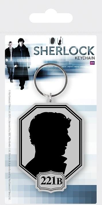 Klíčenka Sherlock - Silhouette