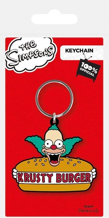 Klíčenka  Simpsonovi - Krusty Burger