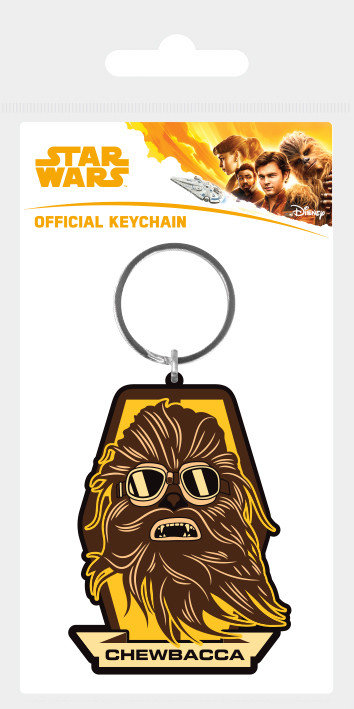Klíčenka  Solo: A Star Wars Story - Chewbacca Badge
