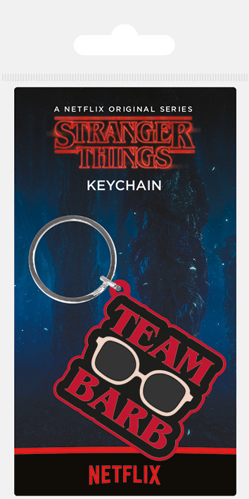 Klíčenka Stranger Things - Team Barb