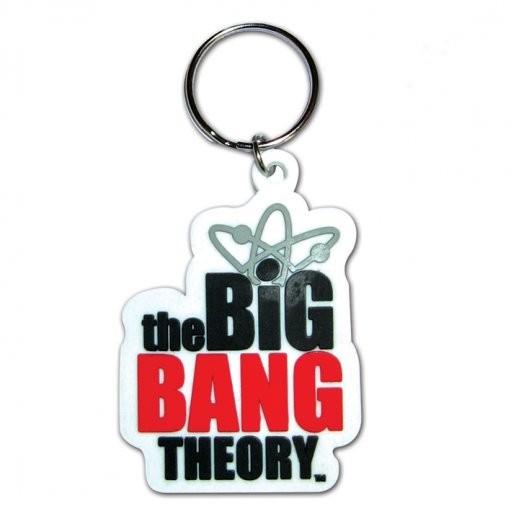 Klíčenka The Big Bang Theory (Teorie velkého třesku) - Logo