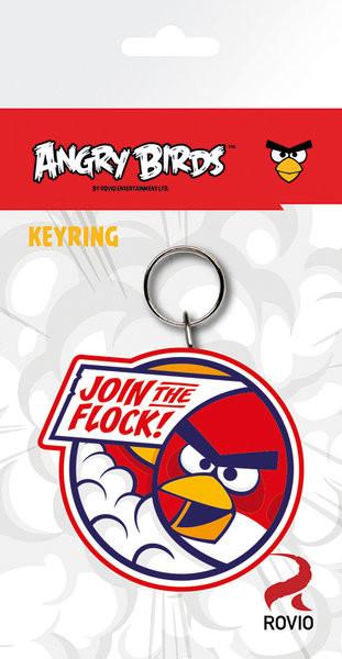 Kľúčenka Angry Birds - Red