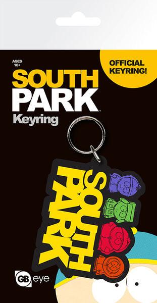 Kľúčenka Mestečko South Park - Logo