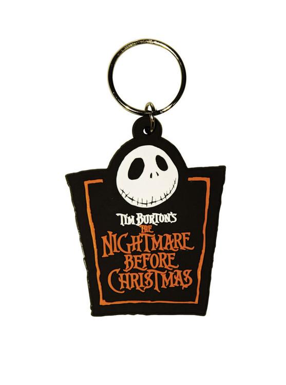 Kľúčenka THE NIGHTMARE BEFORE CHRISTMAS - Jack Logo