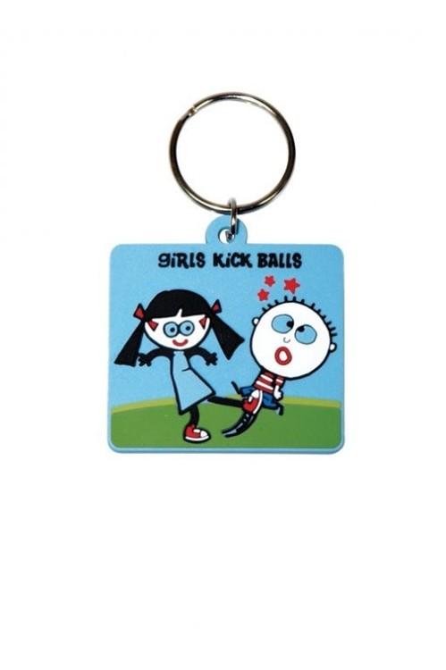 Kľúčenka TRENDY WENDY - Girls Kick Ball
