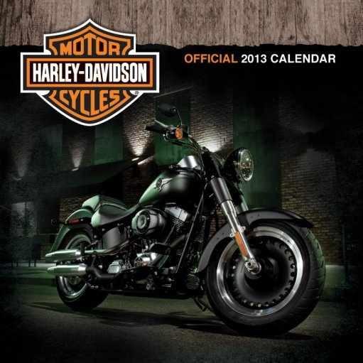 Calendar 2013 - HARLEY DAVIDSON Koledar