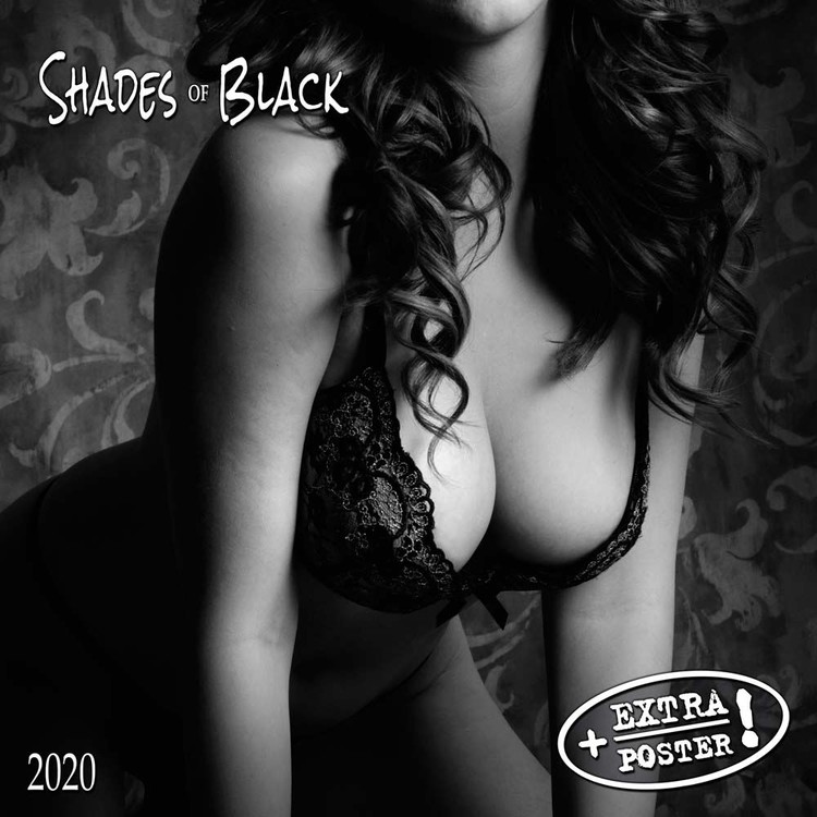 Shades of Black Koledar 2021