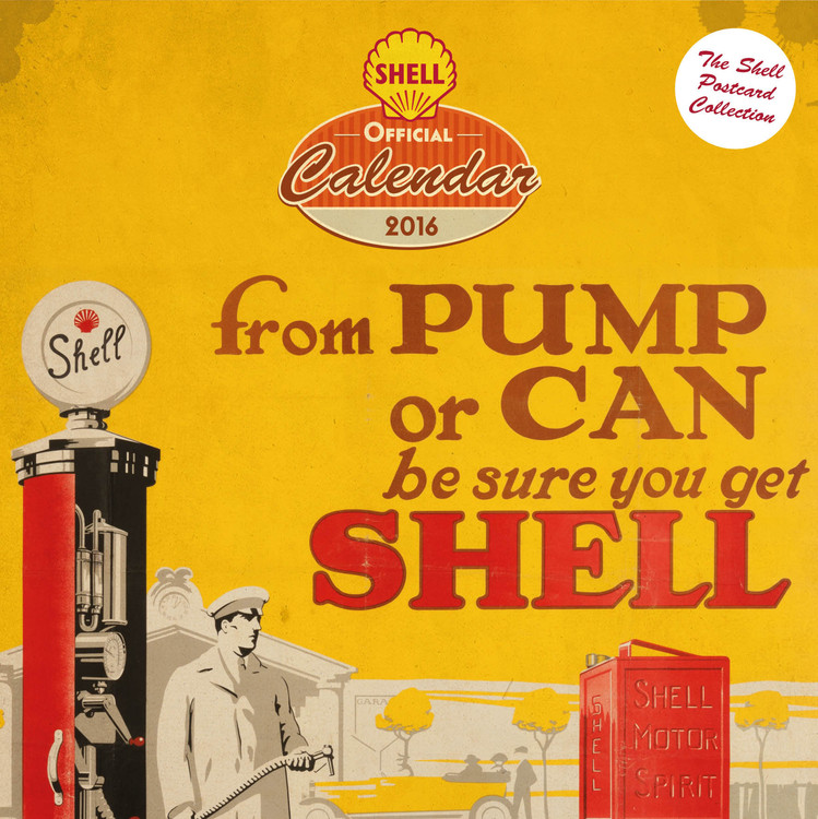 Shell - Retro Koledar