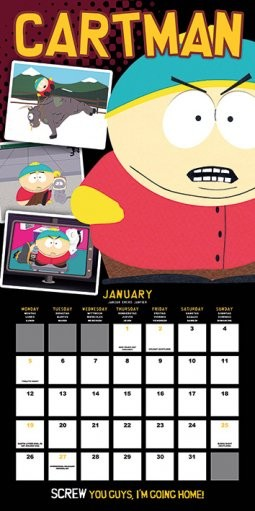 South Park Koledar 2018