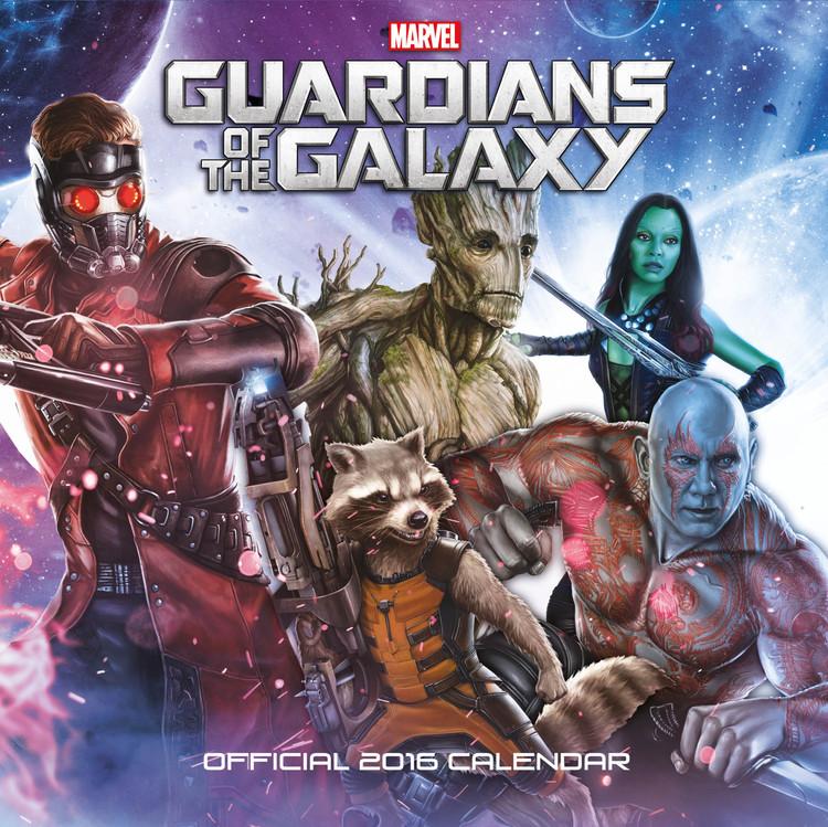 Strážcovia Galaxie Koledar