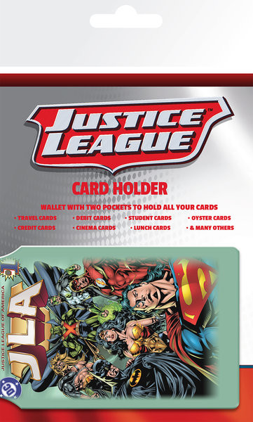 Korthållare DC Comics - Justice League