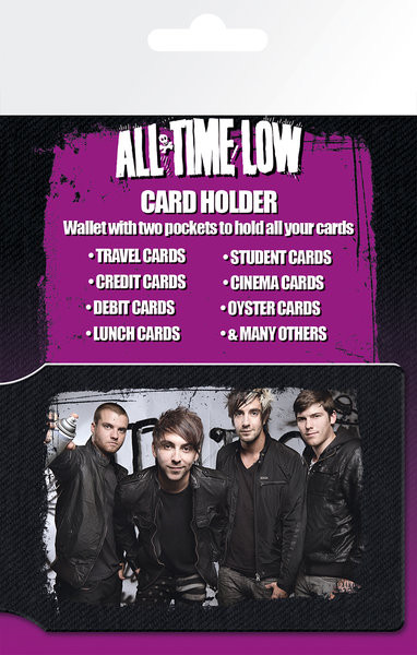 All Time Low - Group Kortholder