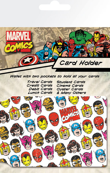 MARVEL - faces Kortholder
