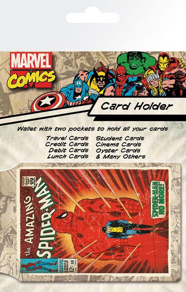 MARVEL - spiderman Kortholder