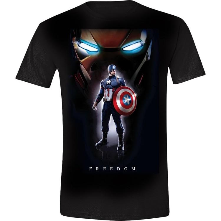 Koszulka z krótkim rękawem  Captain America Posing