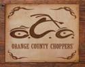 OCC LOGO Kovinski znak