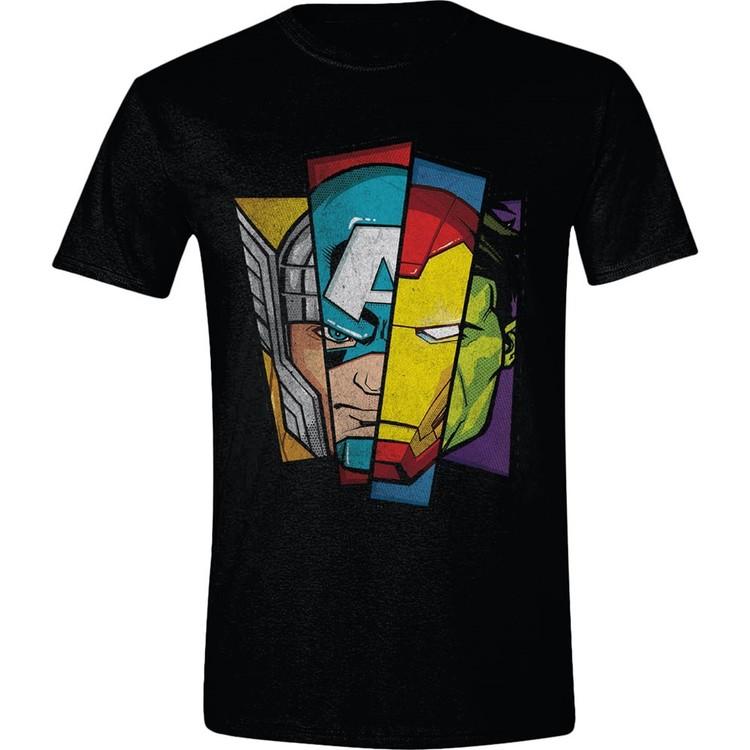 Avengers - Faces Split Kratka majica