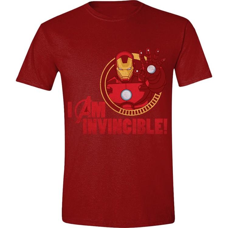 Avengers - Iron-Man I Am Invincible Kratka majica