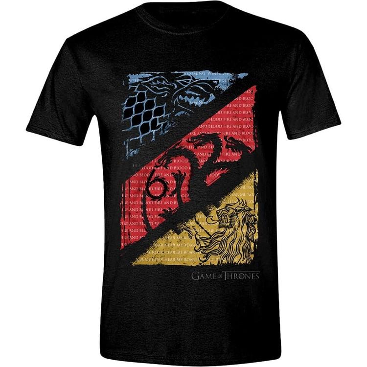 Game of Thrones - Diagonal Sigils Kratka majica