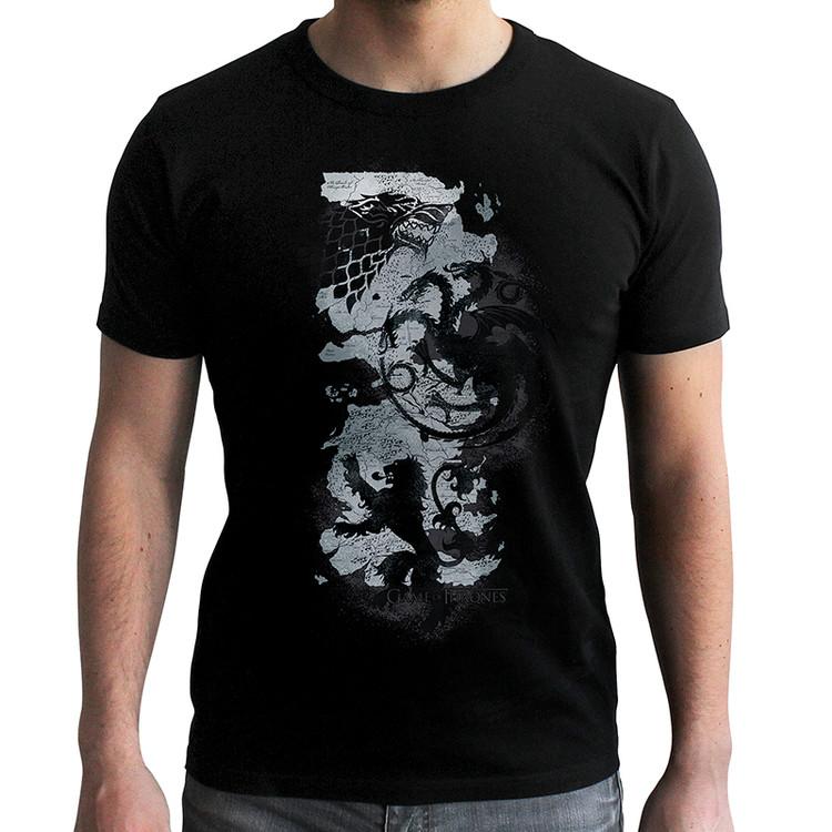 Game Of Thrones - Map Kratka majica