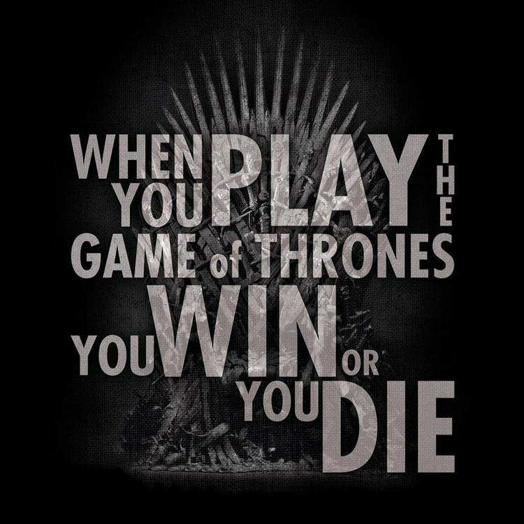 Game Of Thrones - Quote Trone Kratka majica