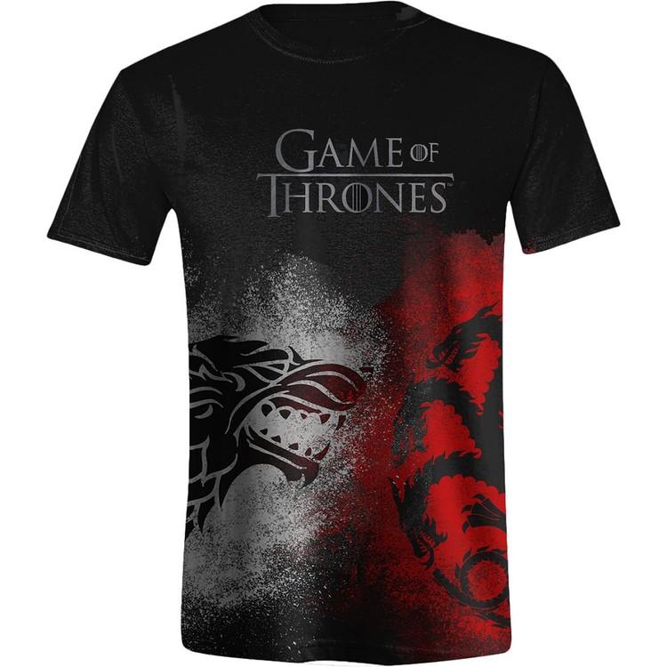 Game of Thrones - Sigil Face Off Kratka majica