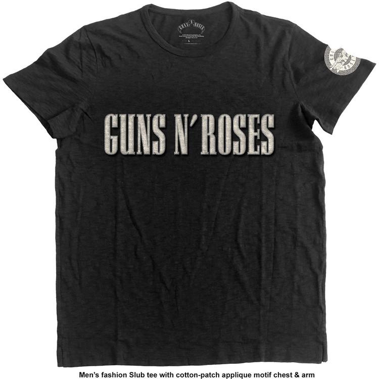 Guns N Roses - LOGO & BULLET CIRCLE Kratka majica