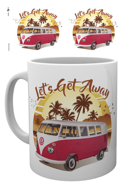2078fbbf VW Camper - Lets Get Away Sunset Krus, Kopp | Kjøp hos Europosters