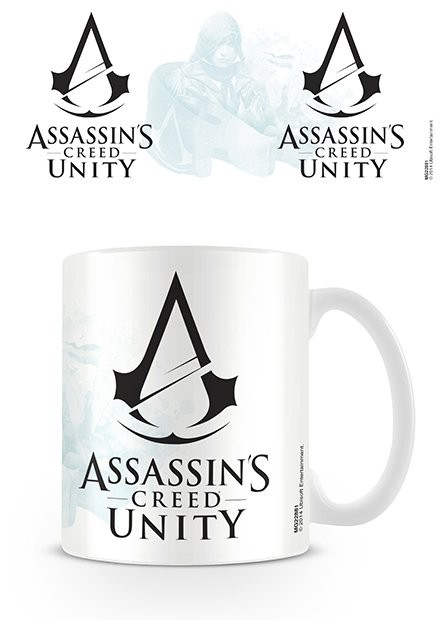 Assassin's Creed Unity - Black Logo Kubek