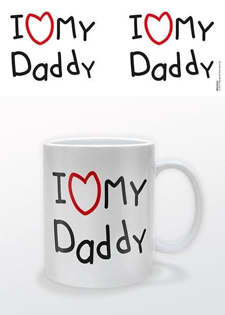 Dzień Ojca - I heart My Daddy Kubek