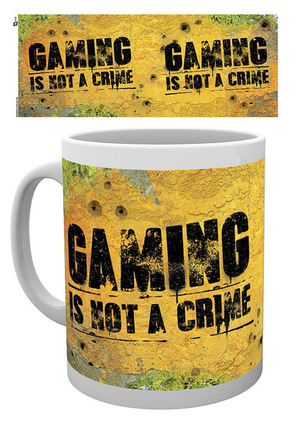 Gaming - Not A Crime Kubek
