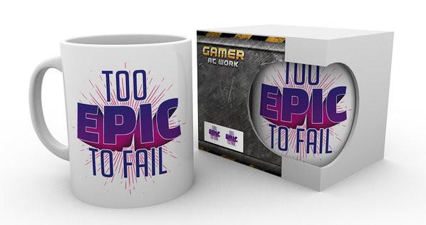 Gaming - Too Epic To Fail Kubek