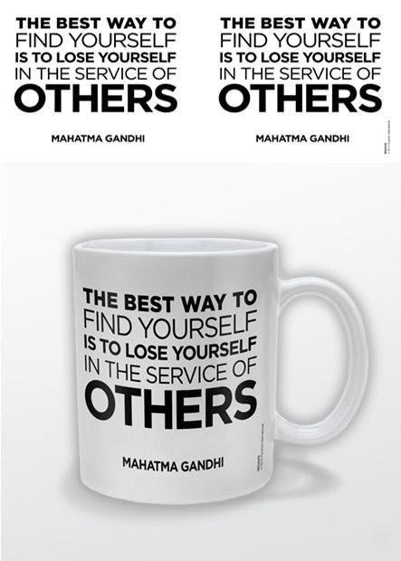 Gandhi – Service of Others Kubek