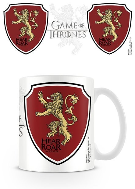 Gra o tron - Game of Thrones - Lannister Kubek