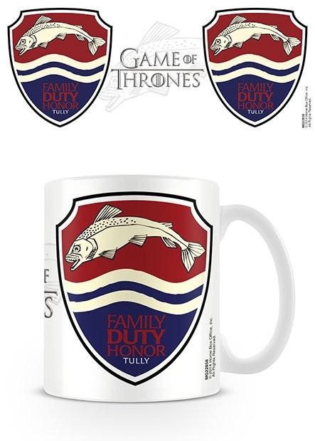 Gra o tron - Game of Thrones - Tully Kubek