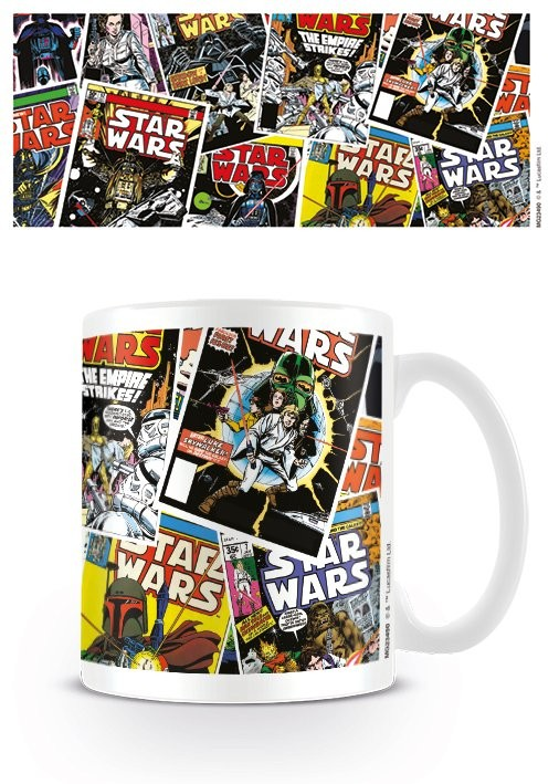 Gwiezdne wojny - Comic Covers Kubek
