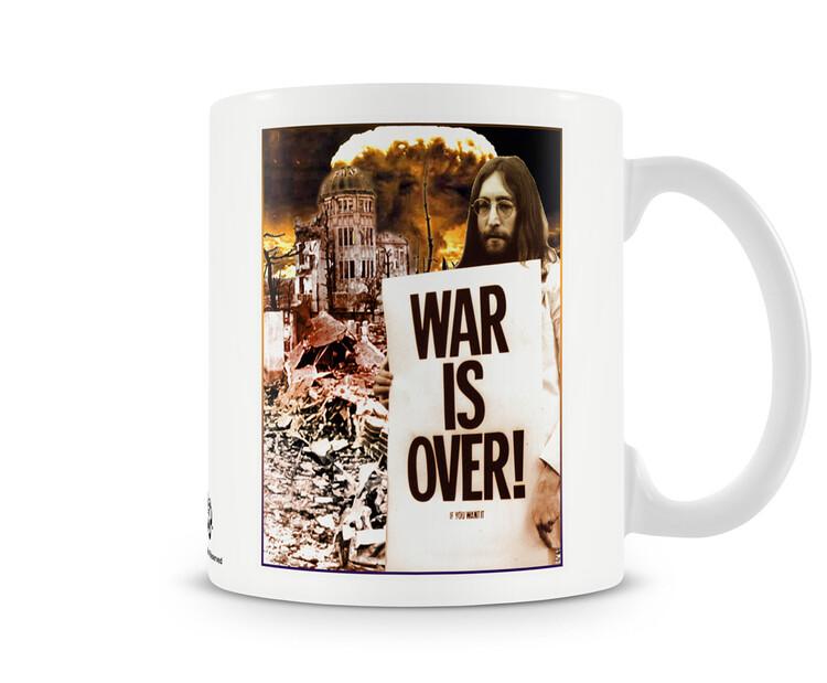 Kubek John Lennon - War is Over