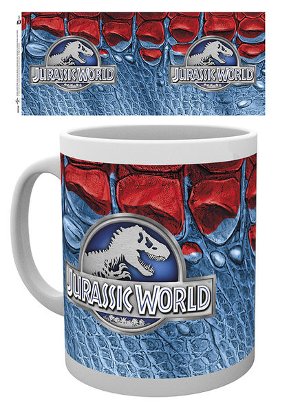 Jurassic World - Logo Kubek