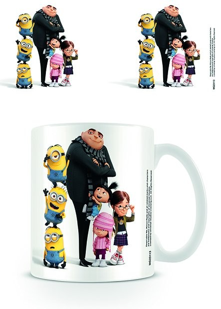 Minionki (Despicable Me) - with Gru Kubek