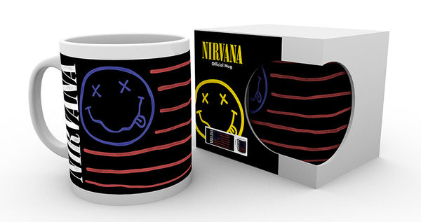 Nirvana - Flag Kubek