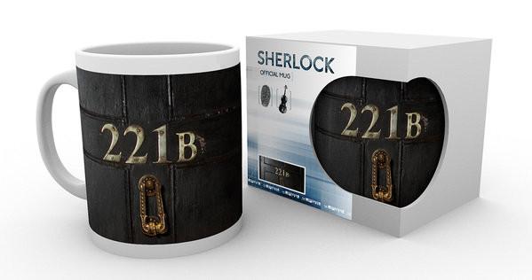 Kubek Sherlock - 221B