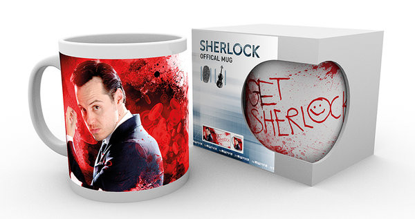 Sherlock - Get Sherlock (Moriarty) Kubek